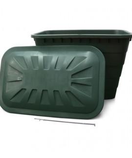 comprar Deposito Rectangular Verde
