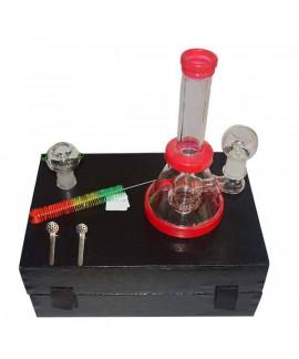 Bong BHO Cristal Caja Percolator 20 cm