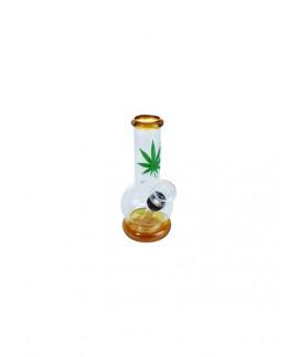 Mini Bong Hoja Marihuana