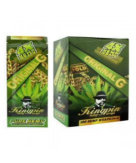Kingpin Blunts de cáñamo - Pack de 4
