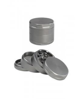 Grinder de Aluminio Gris 4 piezas - 48 mm