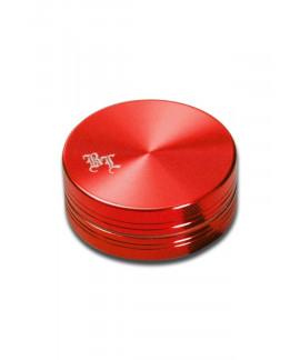 Grinder Aluminio anodizado 'BL' Rojo 2 piezas