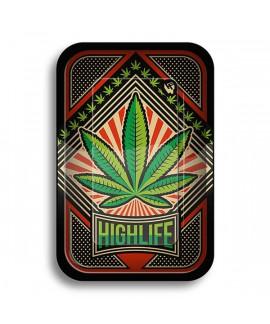 Bandeja de Liar 'Hoja Marihuana' 275x175 mm