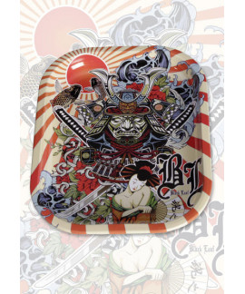 Bandeja de Liar 'Ronin y Geisha' 14x18 cm