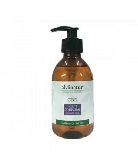 Aceite hidratante corporal CBD - 250 ml | Alvinatur