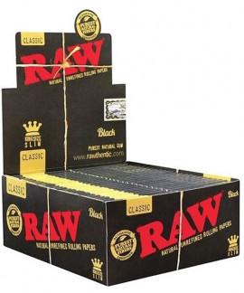 comprar Papel Raw black edition king size slim