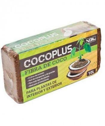 Comprar Fibra Coco prensado Ladrillo 10 L de Coco Plus