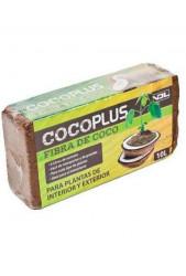 Fibra Coco prensado Ladrillo 10 L de Coco Plus