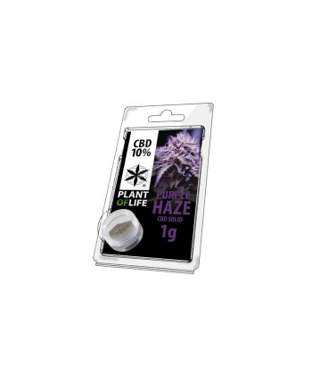 Comprar CBD Solid Purple Haze de Plant of Life